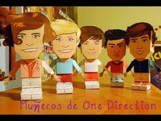 Muñecos de One Direction♥