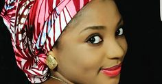 Aisha Tsamiya the beautiful kannywood Actress and a proud Mother of twins posted a photo of herself with the caption ''Black is beautiful''. True talk!