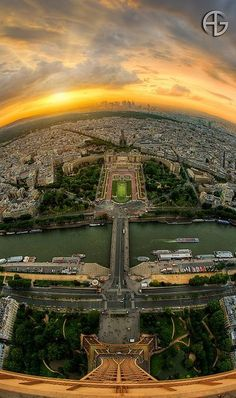 View from the Eiffel Tower, Paris