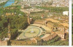 Postal (PostCard) 044647 : Sevilla. Vista aerea | eBay