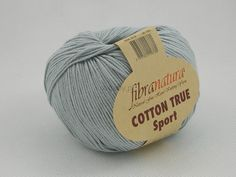 Włóczka Cotton Tru Sport kolor szary nr 107-19 Pasmanteria U Gaby