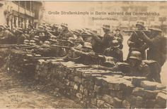 The German Communists in 1919 made an effort to overthrow the German government . In response the government requested the aid of Army units that remained loyal and had not demobilized and the Freikorps. These troops converged on Berlin, and the communists decided to execute a number of prisoners they had taken.