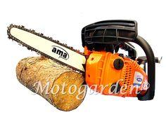Motosega da potatura AMA con barra Carving per potare l'ulivo o piante da frutto.  http://www.motogarden.net/motoseghe/ama/motosega-potatura-nth-26.10-carving-con-kit-taglio