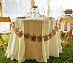 Vintage Wedding - Just Married Banner - Rustic Wedding Decor - Ready to Ship. $30.00, via Etsy.
