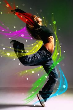 street dancer inspration art by mu6.deviantart.com-- Dancing lets loose the joy inside!