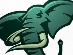 Elephant sports logo - photo#9