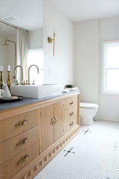Oak Bathroom Vanity by Kaemingk Design