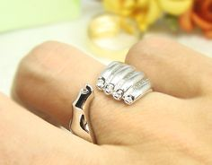Women's Hand Ring Gold Silver Plated Crystal Ring Jewelry Wrap Ring Size Adjustable on Etsy, $14.00