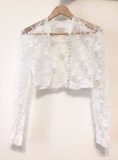 Lace Wedding Bolero | eBay