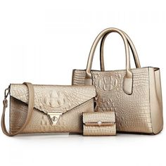 Charming Crocodile Print and PU Leather Design Women's Tote Bag #jewelry, #women, #men, #hats, #watches, #belts, #fashion