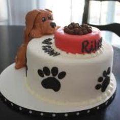 Puppy cake