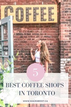 Looking for the best caffeinated drinks in the city? These 5 best coffee shops in Toronto Canada are serving up the most unique, culturally connected, drinks in the city.  These 5 Toronto cafes are perfect for travellers. #torontolife #discoverontario #explorecanada #coffeecommunity