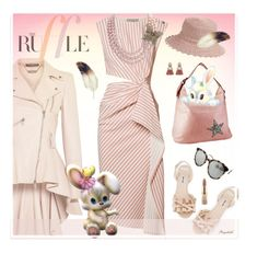 """Have a Great Easter with Ruffles"" by ragnh-mjos ❤ liked on Polyvore featuring Alexander McQueen, Miu Miu, Jason Wu, Braun and Eric Javits"