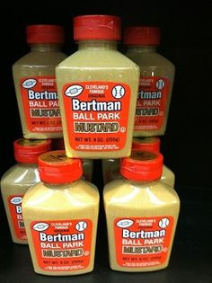 Bertman's Ballpark Mustard Made in Cleveland, Ohio Cleveland Baseball, Cleveland Rocks, Cleveland Ohio, Fancy Foods, Shaker Heights, The Buckeye State, Ohio Usa, Food Cravings, Maryland