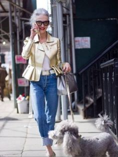 Stylish Linda Rodin and Winks Manhattan & .. the allure of growing old