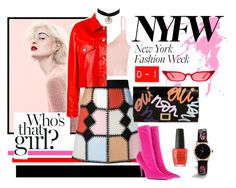 """""""NYFW Day-1"""" by rizca-amani on Polyvore featuring Marc, Loveless, Balenciaga, Roger Vivier, ASOS, Charlotte Russe and Golden Goose"""