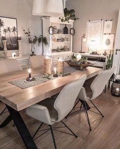 Beautiful black and gold dining room design ideas for inspiration 27 – fugar Farmhouse Dining Room Table, Dining Room Chairs, Modern Dining Table, Dining Furniture, Furniture Ideas, Interior Design Living Room, Living Room Decor, Küchen Design, Design Ideas