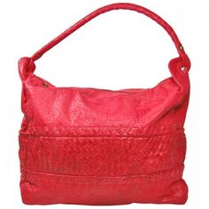 Antoinette Leather Bag in Raspberry Red by Cadelle Leather available at  www.seasonsemporium.com 9900fa64b9744
