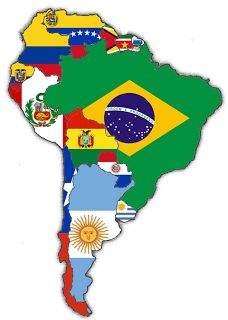 Continent Profile: South America Area: 6,858,673 square miles Climate: Varied Population: 327 million. Main languages: Spanish, Portuguese, and many Native American Languages. Density: 44.9 people per square mile. Mountain ranges: Andes, Blanca, Occidental Birthrate: 27.5 Death rate: 7.7 per 1,000 people Annual growth rate: 1.9% per 1,000 people Major religions: Roman Catholicism, Protestantism, and other