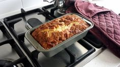 """Devine Apple Cinnamon Loaf! """"Second time making it in 2 days, came out perfect like the first one!""""  @allthecooks #recipe"""