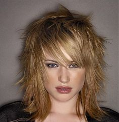 pics of choppy layered hairstyles trendy short hairstyles long