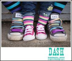 we wear fun shoes!  Kid photography