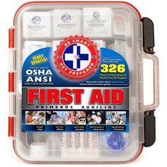 Hoy solamente en Amazon puedes conseguir en especial un Kit de Primeros Auxilios 326 Piezas incluidas! Con este especial puedes ahorrar ..