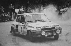 ra Bruno Saby - Francoise Sappey-Renault 5 Turbo Gr.4-Sodicam Elf-Tour de Corse 1982