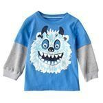 Carters MockLayer Monster Tee Baby 9 Months ** Want additional info? Click on the image. (This is an affiliate link) #BabyBoyTops
