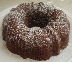 Instant Pot Cocoa Apple Bundt Cake