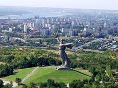 Volgograd, Russia (former Stalingrad), the hometown of my mom.