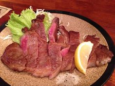 ルクサラの和牛ステーキ
