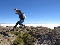 It's difficult to breath when you're 3,656 meters above sea level. It's even more difficult to hike. Luckily I had my Blundstone boots to keep my feeling light as I hopped my way across Isla Incahuasi in Salar de Uyuni, Bolivia.   #yourboots