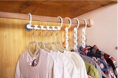 seu guarda roupa: como aumentar o espaço para cabides?