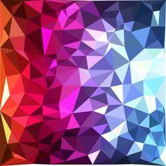 水晶多彩背景图