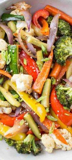 Mixed Veggie Recipes, Mix Vegetable Recipe, Roasted Vegetable Recipes, Vegetarian Recipes, Healthy Recipes, Potato Recipes, Cooking Recipes, Healthy Side Dishes, Vegetable Sides