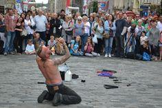 #Edinburgh #Fringe Street performer