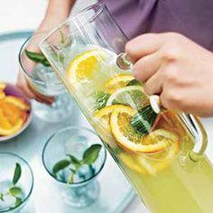 Basil-Gin Lemonade