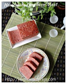 Homemade luncheon meat