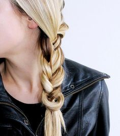 You can tie your braid without an elastic