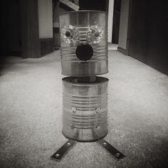 Made the lad a robot today... Everyone say hello to Phil... The lad chose that name. #dadprojects #robot #tincantoy #phil #noir http://ift.tt/1E20YDk | Photographer in Viroqua Wisconsin