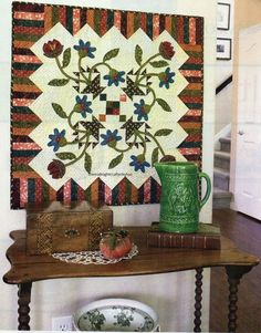 Bloomin' Baskets Quilt Pattern Pieced/Applique DE