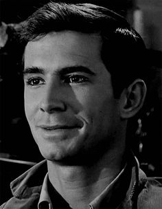anthony perkins GIF... O.M.G !!!!!! Always loved him...Since I was 15! (When I didn't know! ;0D) He will always be my perfect man! ;0)