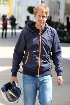 66dcb4516be In the Paddock w Sebastian Vettel ahead of the 2014 Grand Prix   Silverstone  this weekend.