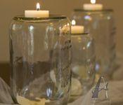 Mason jar wedding decoration ideas.