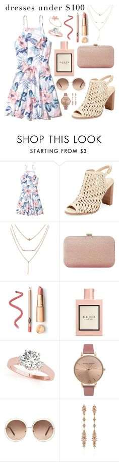"""""""Priceless"""" by wschurchill ❤ liked on Polyvore featuring Hollister Co., Renvy, Dune, Gucci, Olivia Burton, Chloé and Fernando Jorge"""