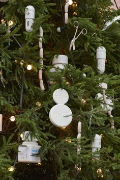 The Connaught unveils inaugural Christmas tree designed by Hirst - Damien Hirst