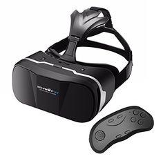 VR (Realidad Virtual) Gafas 3D + Control Remoto Bluetooth, BlitzWolf VR (Realidad Virtual) Box Realidad Virtua de 3,5-6,3 Pulgadas - https://realidadvirtual360vr.com/producto/vr-gafas-3d-control-remoto-bluetooth-blitzwolf-vr-box-realidad-virtua-de-3-5-6-3-pulgadas-vr-cardboard-versin-mejorada-para-ios-iphone-se-6-6s-plus-android-samsung-galaxy-s5-s6-s7-edge-note-4-5-versin/ #RealidadVirtual #VirtualReaity #VR #360 #RealidadVirtualInmersiva