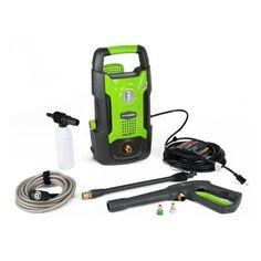 Greenworks Premium 1500 PSI Vertical Pressure Washer