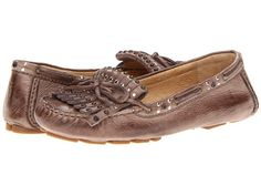 Frye Reagan Studded Kiltie Off White Soft Vintage Leather - Zappos.com Free Shipping BOTH Ways